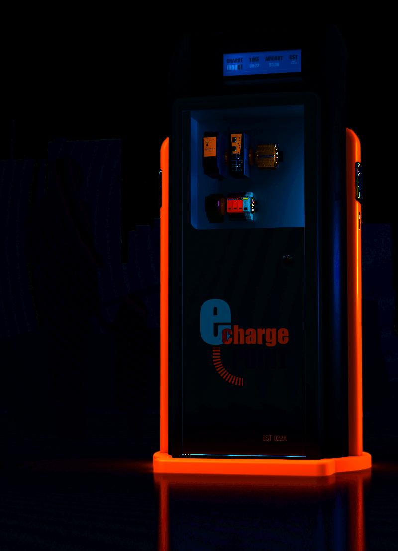 Weidmüller - Vernetzte Ladestation für Elektrofahrzeuge