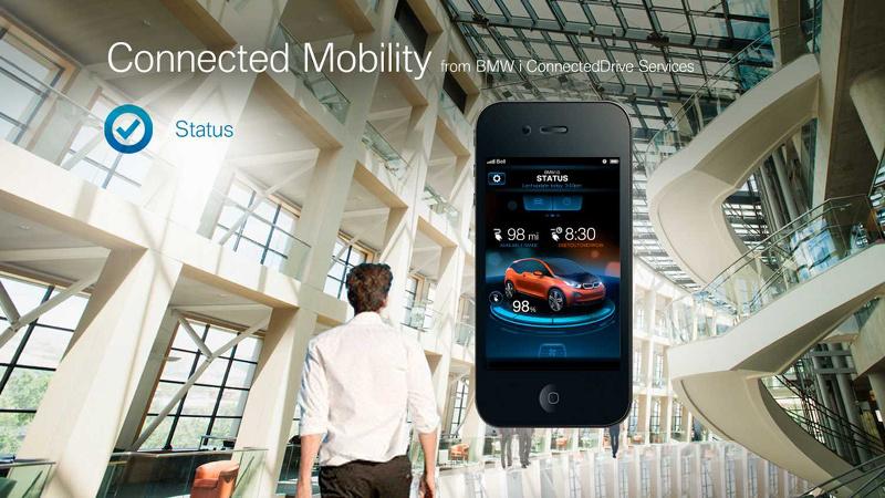 BMW App für Elektrofahrzeuge