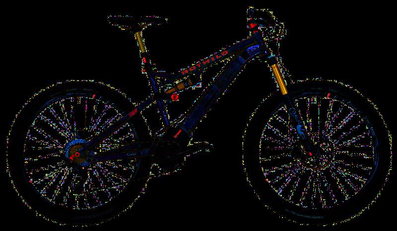 Pedelec Mountainbike: Rotwild P1+
