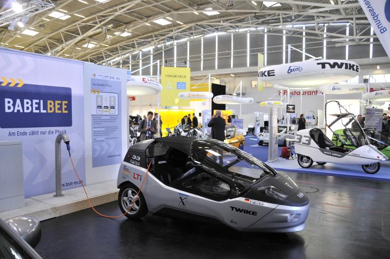 Twike 4: Elektrofahrzeugkonzept auf der IAA