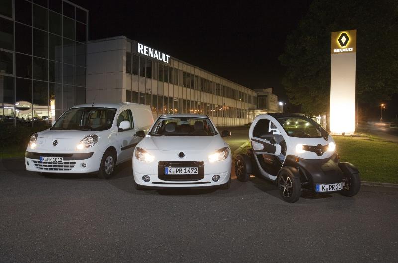 Renault gehört zu den bekanntesten Elektroautomarken