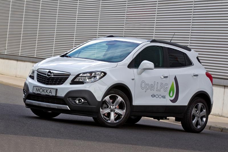 Opel Mokka LPG - Mit Autogas die Kraftstoffkosten senken