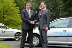 Lars Wilken (Geschäftsführer TWINTEC Technologie GmbH) und Peter Rutten (CEO Vialle)