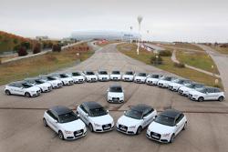 Audi startet seine Elektroauto Testflotte - 20 A1 e-tron sind von nun an in München unterwegs.
