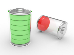 Mit der Redox-Flow-Technologie können Batterien einfach aufgetankt werden.