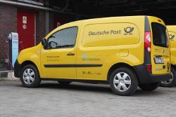DHL liefert Batterien für zukünftige Elektrofahrzeuge