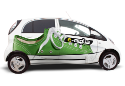 e-miglia - Die Rallye nur für Elektrofahrzeuge 01.08.-05.08.2011