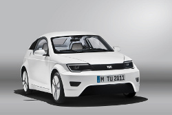 Das Elektrofahrzeug der TU München wurde nun auf der IAA 2011 vorgestellt
