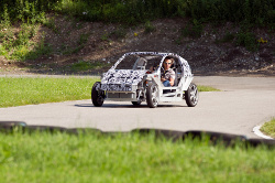 Elektrofahrzeug Mute im Erlkönig Gewand