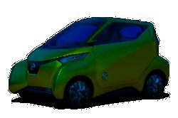 Die Elektroauto Fahrzeugstudie PIVO 3 von Nissan
