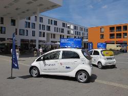 Elektroauto i-MiEV beim Hessentag 2011