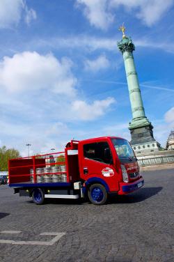 Getränkelieferant Tafenal hat seit einem Jahr einen LKW mit Elektromotor im Einsatz