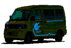 Elektrofahrzeug Kleintransporter: Der Minicab-MiEV