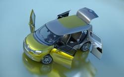 Renault Frendzy Elektro Kompaktvan wird auf der IAA in Frankfurt vorgestellt.