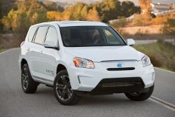 Toyota RAV4 EV - Elektroauto mit Tesla Antriebstechnologie