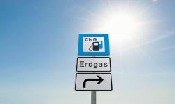 Das Erdgas Tankstellennetz soll zukünftig weiter ausgebaut werden
