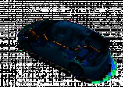 Toyota zeigt den Prius III als Schnittmodell bei der Nacht der Technik in Köln