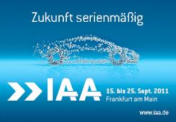 Die zukünftige Elektromobilität ist in diesem Jahr ein Schwerpunktthema der 64. IAA in Frankfurt am Main
