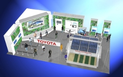Toyota Messestand auf der Smart Mobility City 2011