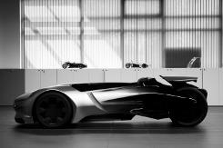 Alternativ-Fahren.de Bildergalerie: Concept Car Peugeot EX1 Roadster (Bild 1)