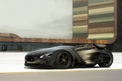 Alternativ-Fahren.de Bildergalerie: Concept Car Peugeot EX1 Roadster (Bild 2)