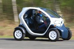 Ab 2012 auch in Deutschland erhältlich: Der Renault Twizy