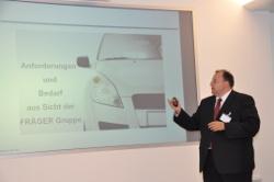 Dirk Fräger (FRÄGER GmbH) berichtete u.a. von seiner Firmenausgründung