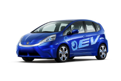 Honda stellt E-Version des Jazz und Plug-in Hybrid Plattform vor