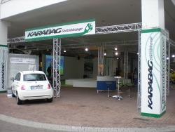 Auf der automechanika 2010 zeigte Karabag im Rahmen einer Live Vorführung die Transformation eines Fiat 500