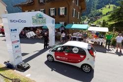 Mitsubishi i-MiEV: Zweiter Platz bei 1. Silvretta E-Auto Rallye