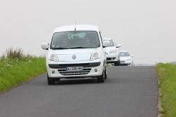 Elektroautoflotte von Renault auf Z.E. Tour