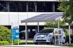 Elektrofahrzeuge zukünftig mit Solarenergie tanken