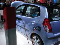 Weltpremiere auf der IAA 2009 - Der i10 electric von Hyundai