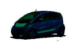 Der i-MiEV wird auf der Autoshow in Kanada/Toronto ausgiebig getestet.
