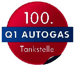 100. Q1 Autogas Tankstelle