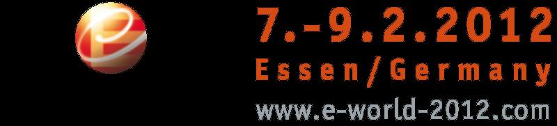 E-world 2012 in Essen